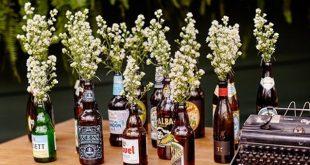 cerveja na decoração ideias