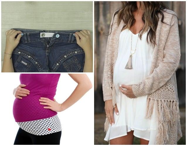 como adaptar roupas para gravida 2
