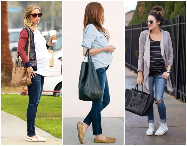 como adaptar roupas para gravida
