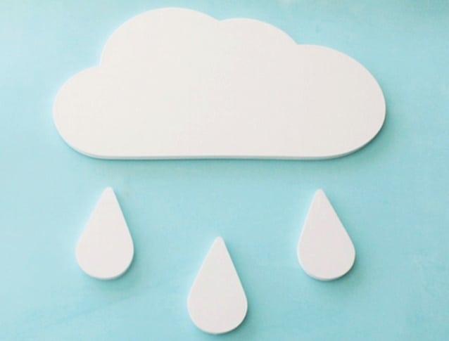 Novidades no negócio: nuvem em MDF para decoração de quarto de bebê