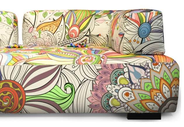 móveis para colorir 1