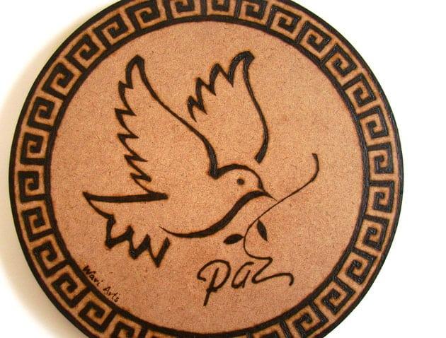 pirografia em madeira