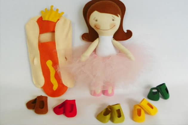 criação de bonecos e variedades