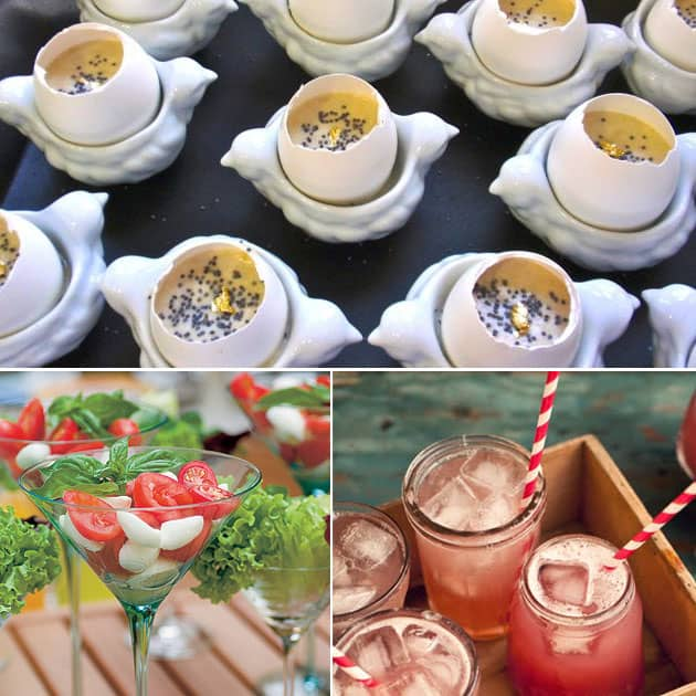 Faça você mesmo festa brunch_comidas