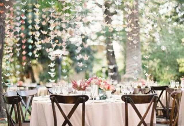 faça seu próprio casamento decoração