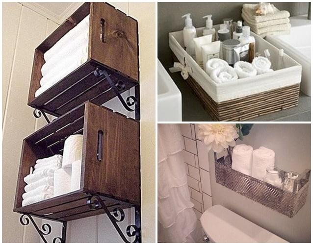 Gavetas do banheiro soluções para organizar