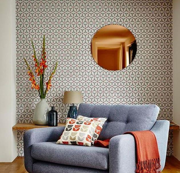 Papelde parede texturizado 1