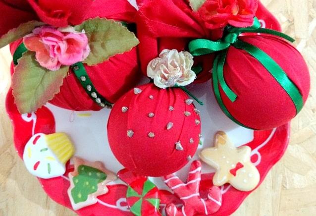 Bolas de Natal decoradas final