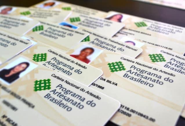 Carteira Nacional Artesão