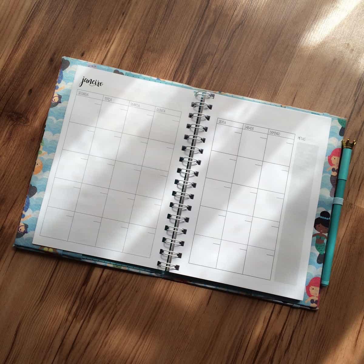 agenda e planner