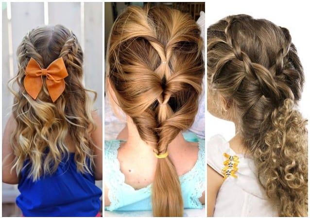 penteados infantis -trancas
