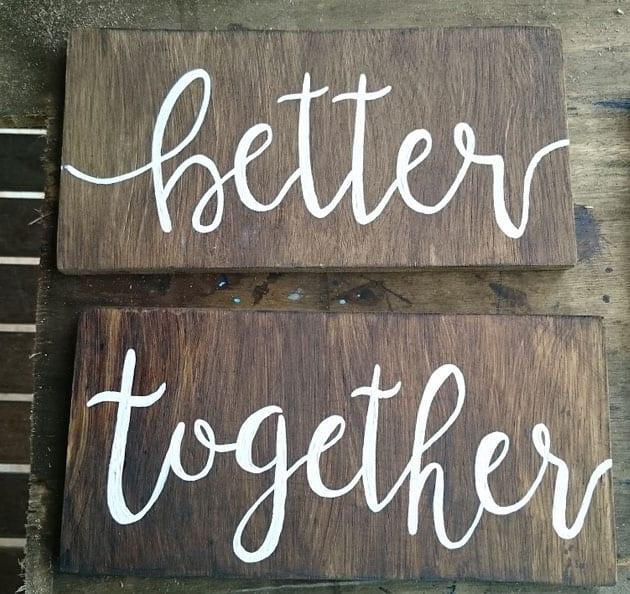 plaquinhas de casamento 3
