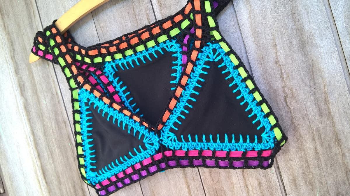 biquini de croche na moda