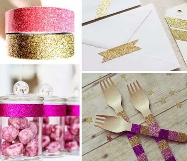 decoracao-de-festa-com-washi-tape-talheres