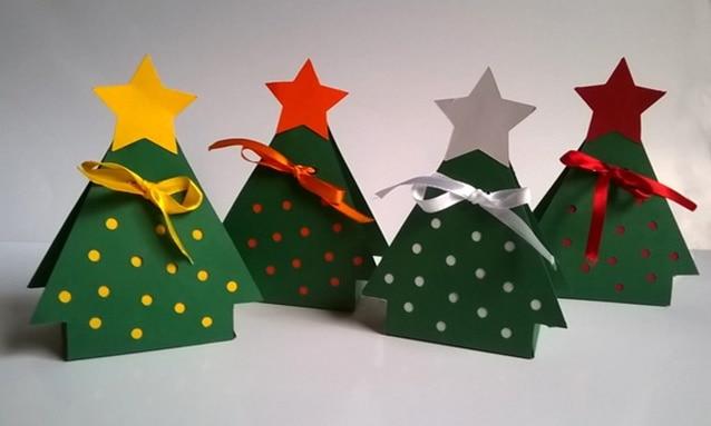 Caixinhas para um Natal colorido da Lily Art