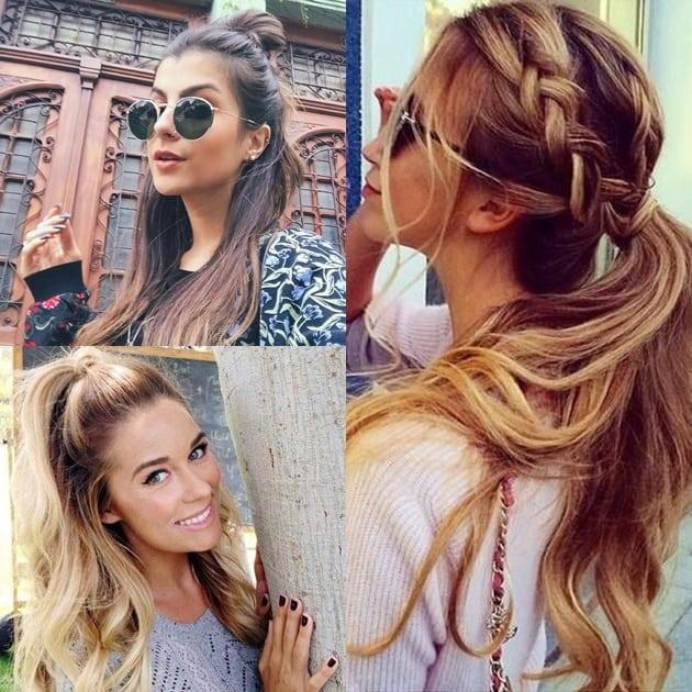 penteados para o verão