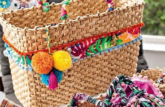 Como customizar sacola de praia