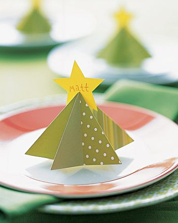 Como montar uma mesa de Natal 1