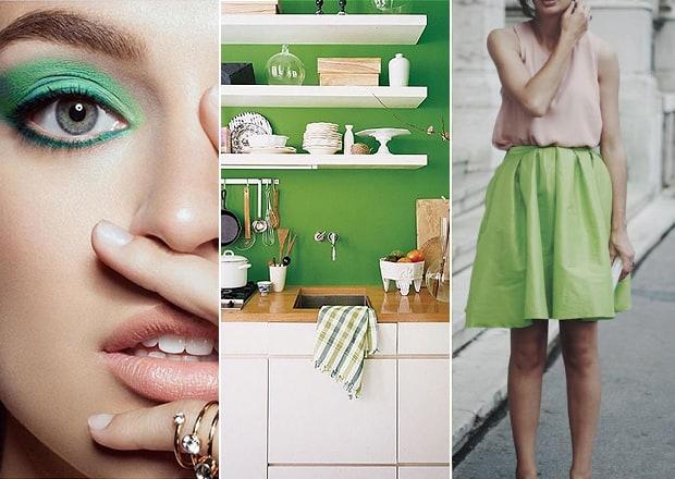 Greenery é a cor Pantone 2017 produtos