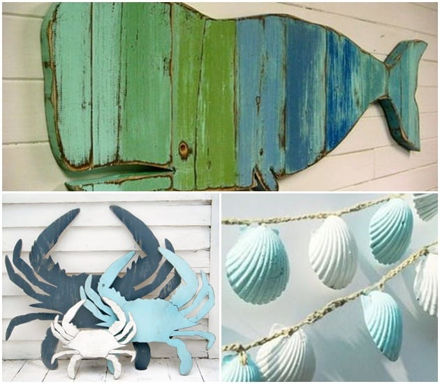 Garimpe objetos decorativos nas feiras de artesanato perto de sua casa de praia