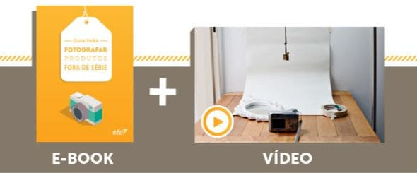 Guia do Vendedor Elo7 Guia para fotografar produtos fora de série