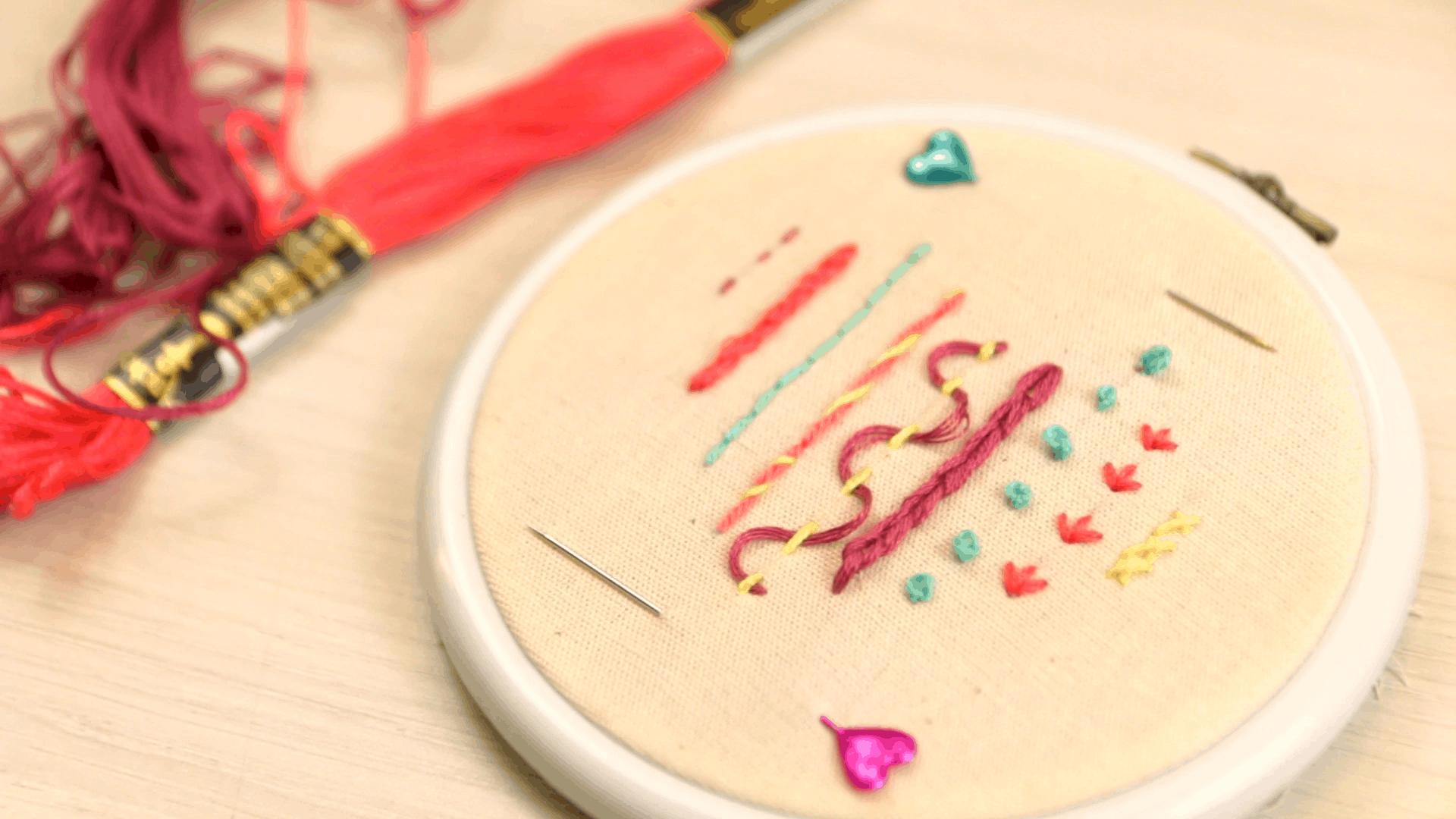 11 ideias para usar bordado na decoração