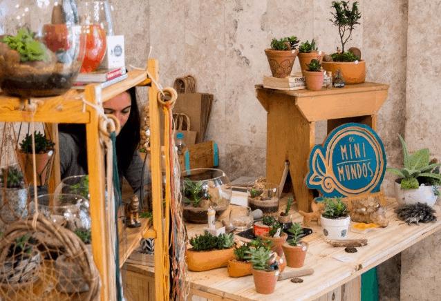 Como expor produtos em feiras e bazares