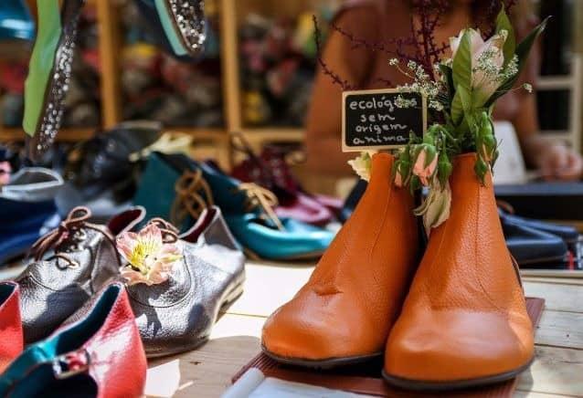 Como expor produtos em feiras e bazares flores
