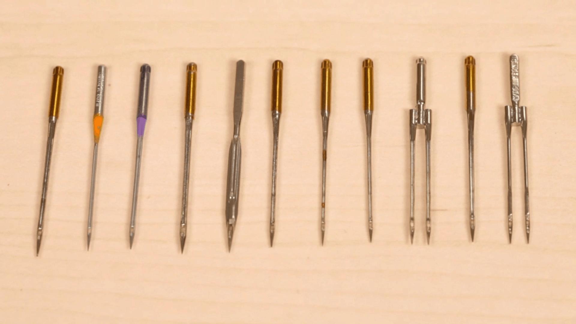 qual é o tipo de agulha ideal para cada trabalho