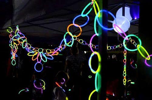 20 ideias de luzes para festas