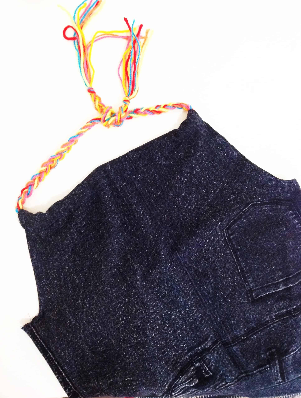 top cropped com calça legging