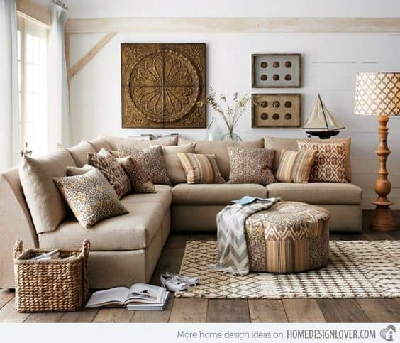 10 ideias de decoração natural