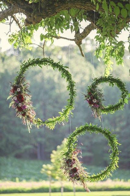 12 guirlandas para casamento