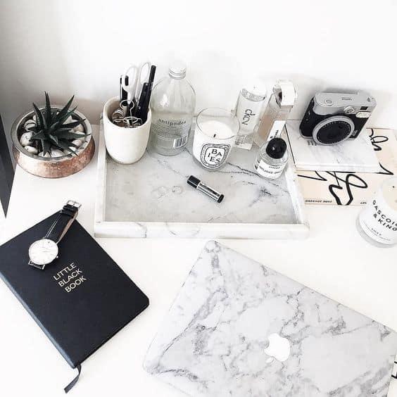 ideias para usar mármore na decoração