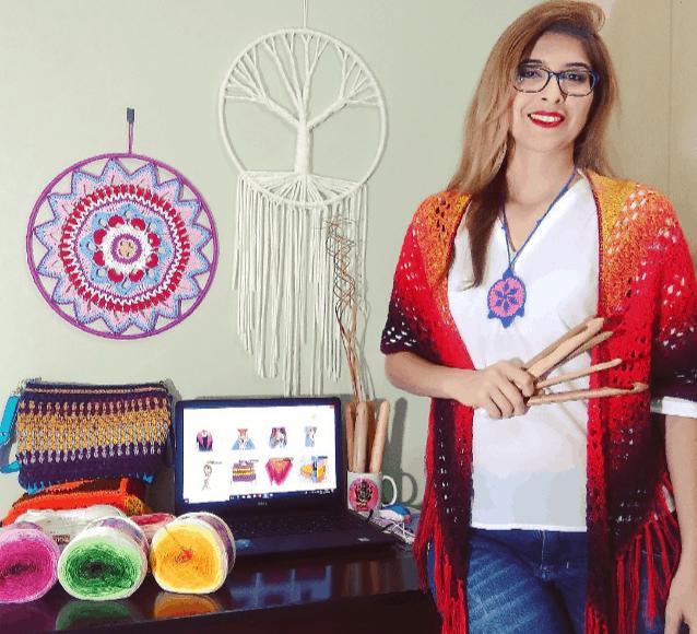 Saiu a quinta finalista do Prêmio Elo7 Criativo 2018: conheça a Boho Art Crochê roberta