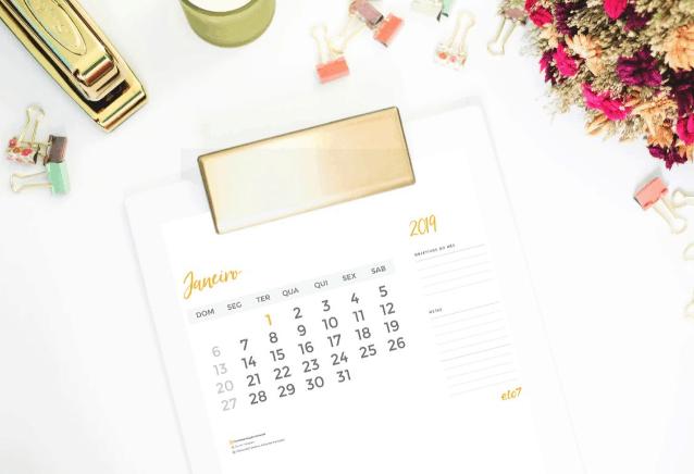 Como planejar suas metas em 2019