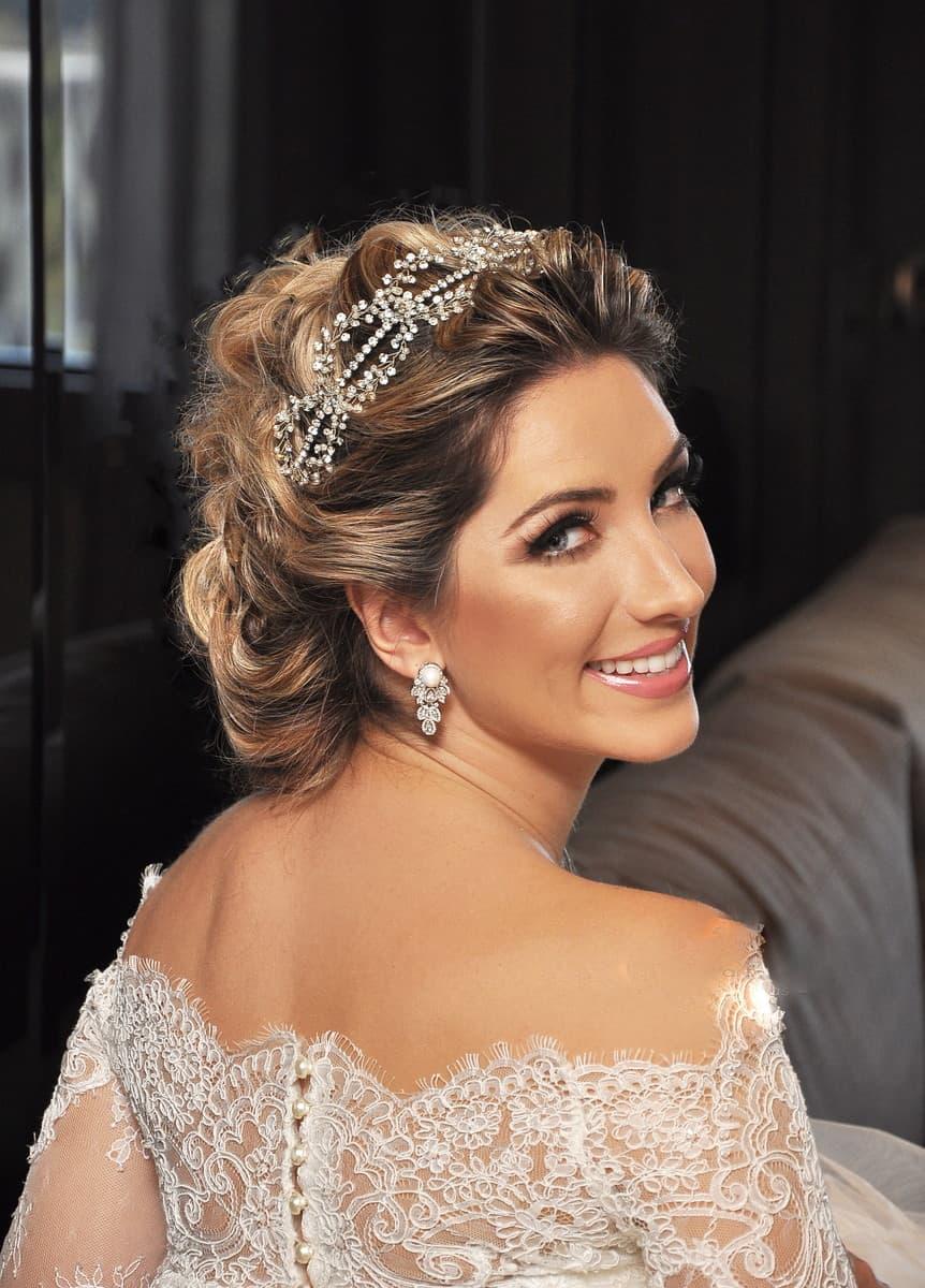 casamento, tiara, noiva, acessório