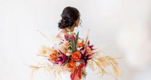 decoração, casamento, pantone, golden hour