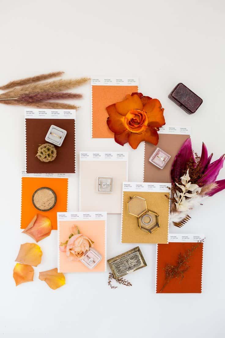 casamento, golden hour, cores, pantone, decoração