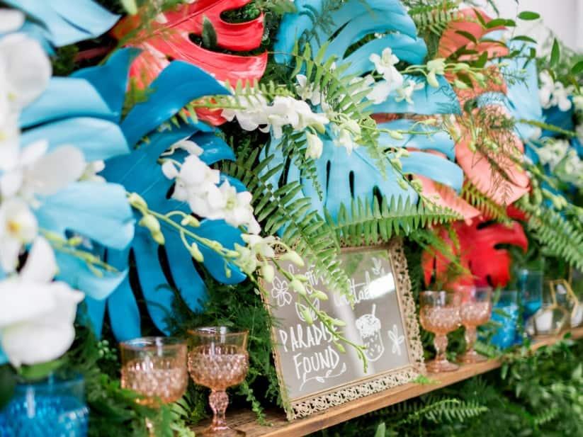 casamento, paradise found, organização, cor, pantone