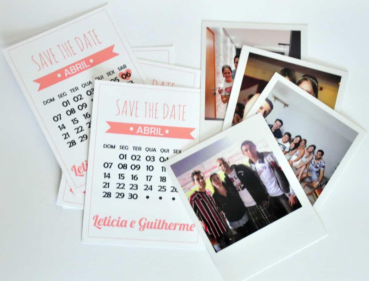 polaroid, casamento, organização, save the date