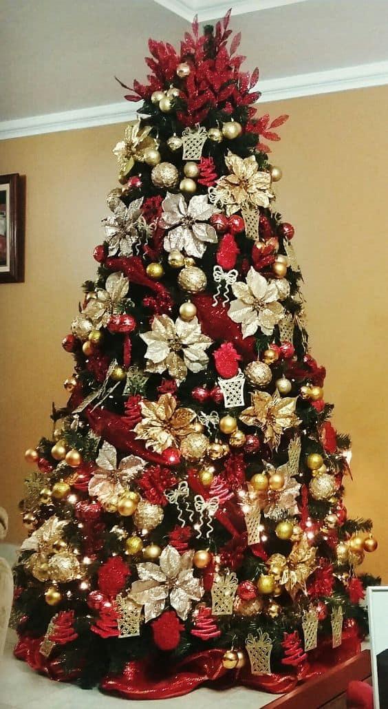Árvore de Natal clássica