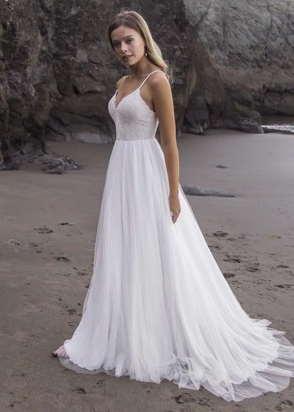 Noiva com vestido império