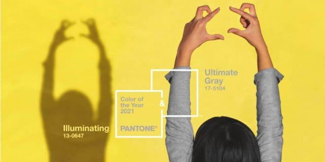 Imagem de divulgação da cor do ano 2021 Pantone.