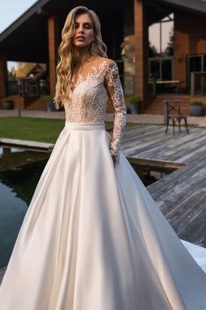 Vestido de noiva princesa.