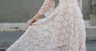 Noiva com vestido mullet.