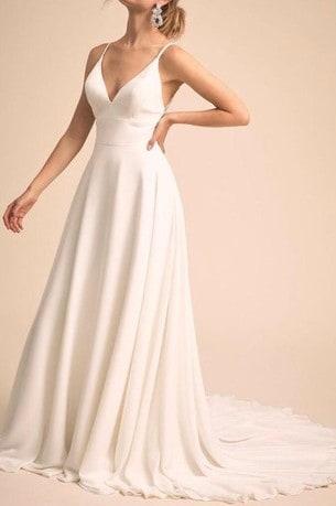 Vestido de noiva estilo império.